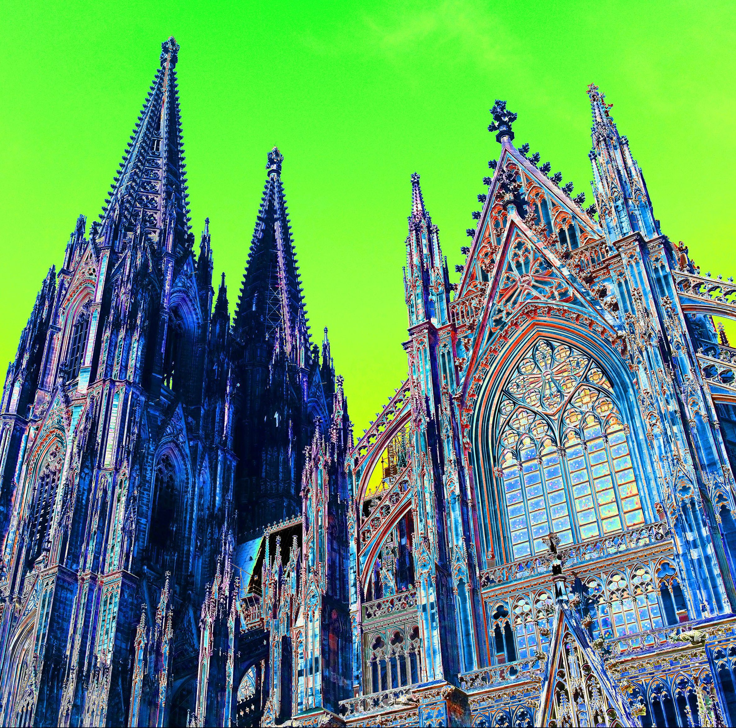popchromatique cologne cathedral - magoo 2018