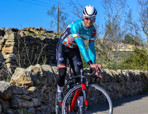 Aaron Grosser trotz Unfall bester deutscher Kontinentalfahrer 2020